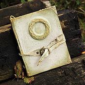 """Канцелярские товары ручной работы. Ярмарка Мастеров - ручная работа """"Flora`s Secret"""" - Эльфийская книга. Handmade."""