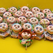 "Куклы и игрушки handmade. Livemaster - original item Amulet dolls, guardians of your house, brownies - ""Blagopoluchnitsa"". Handmade."