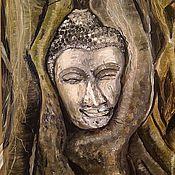 Картины и панно ручной работы. Ярмарка Мастеров - ручная работа Взгляд из вечности. Handmade.
