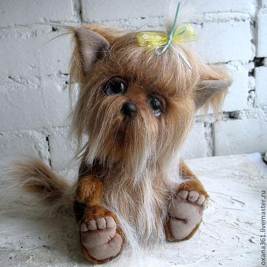 """Мишки Тедди ручной работы. Ярмарка Мастеров - ручная работа. Купить Собака Друзья Тедди  """"щенок Феня"""". Handmade. Собака"""