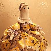 """Для дома и интерьера ручной работы. Ярмарка Мастеров - ручная работа Грелка на чайник """"Душевная чайная барышня"""" № 2. Handmade."""