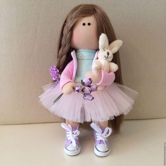 Куклы тыквоголовки ручной работы. Ярмарка Мастеров - ручная работа. Купить Виолетта. Handmade. Комбинированный, подарок на любой случай