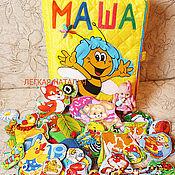 """Куклы и игрушки ручной работы. Ярмарка Мастеров - ручная работа Развивающая именная книжка """"Маша"""". Handmade."""