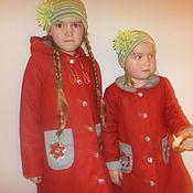 Работы для детей, ручной работы. Ярмарка Мастеров - ручная работа Легкое пальто. Handmade.