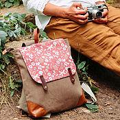 Сумки и аксессуары ручной работы. Ярмарка Мастеров - ручная работа Рюкзак Adventure коричневый. Handmade.