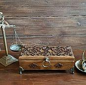 """Шкатулки ручной работы. Ярмарка Мастеров - ручная работа Шкатулка """" Прованс"""" на 3 отделения. Handmade."""