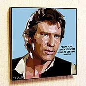 Картины и панно handmade. Livemaster - original item Picture Star wars Han Solo. Handmade.
