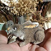 Куклы и игрушки ручной работы. Ярмарка Мастеров - ручная работа Зайчишка в капусте. Handmade.