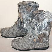 Обувь ручной работы handmade. Livemaster - original item Handmade valenki Many winters. Handmade.
