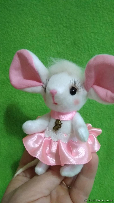 Мышка-белышка, Мягкие игрушки, Котлас,  Фото №1