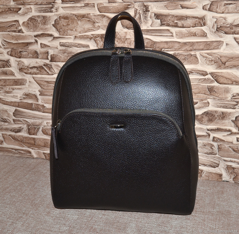 Model 15 genuine leather Backpack, Backpacks, Bogorodsk,  Фото №1
