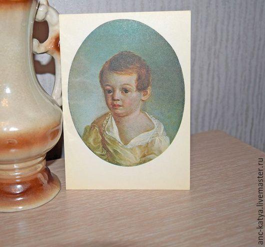 Набор открыток №1. `Московская изобразительная пушкиниана`