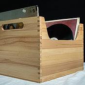 Для дома и интерьера handmade. Livemaster - original item 33 turns vinyl record box. Handmade.