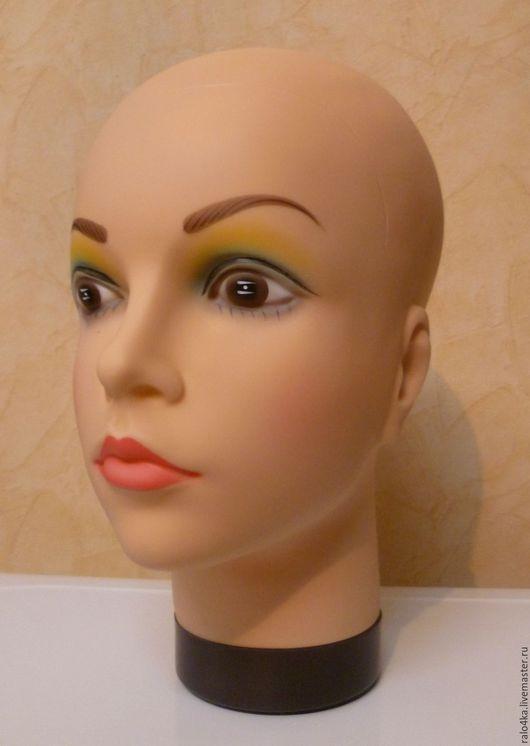 Манекены ручной работы. Ярмарка Мастеров - ручная работа. Купить Манекен Голова для массажа и головных уборов. Handmade. Бежевый, голова