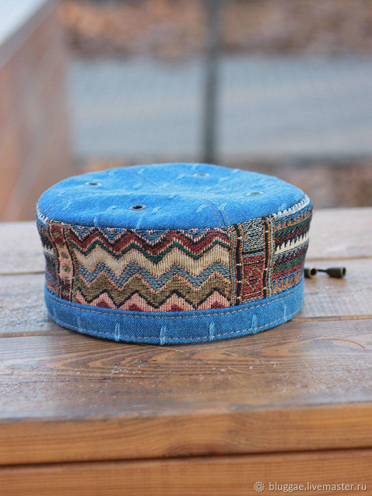 e4122bfed048d Online Hats handmade. Order African cap kufi skullcap Marrakech MRK-07.  Bluggae Custom.