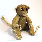 Куклы и игрушки ручной работы. Ярмарка Мастеров - ручная работа Игрушка из натурального меха. Долгопят. Handmade.