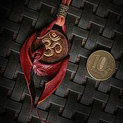 """Украшения ручной работы. Ярмарка Мастеров - ручная работа Кулон """"Драконья мудрость """". Handmade."""