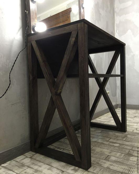 Мебель ручной работы. Ярмарка Мастеров - ручная работа. Купить Стол ESPRESSO.. Handmade. Коричневый, стол на заказ, сосна