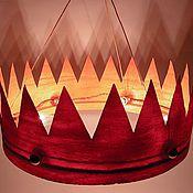 """Для дома и интерьера ручной работы. Ярмарка Мастеров - ручная работа Люстра """"Корона"""". Handmade."""