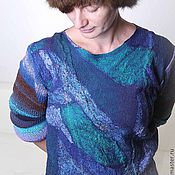 Мужская одежда handmade. Livemaster - original item Sweater felted