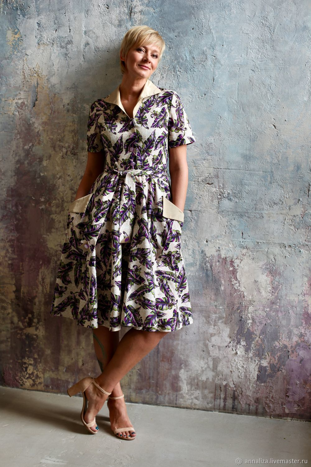 Dress in the style of 50-ies of the skater, Dresses, Moscow,  Фото №1