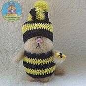 Куклы и игрушки ручной работы. Ярмарка Мастеров - ручная работа котик-гномик Бамблби. Handmade.