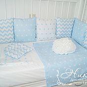 Бортики в кроватку ручной работы. Ярмарка Мастеров - ручная работа Бортики в детскую кроватку. Handmade.