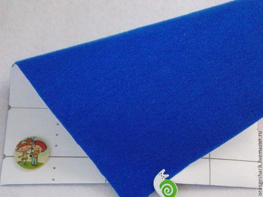 Шитье ручной работы. Ярмарка Мастеров - ручная работа. Купить Велкроткань Синяя. Handmade. Тёмно-синий, велкро, велкроткань, ковролинограф