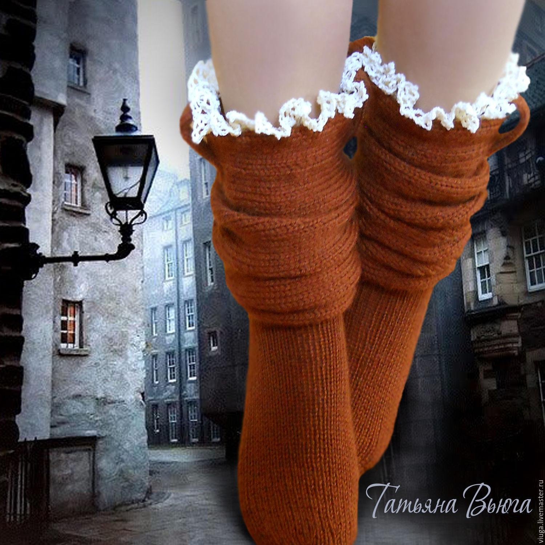 6caf9cba2dc Вязаные носки Андерсен. Автор Татьяна Вьюга. Купить вязаные руками мастера  носки - лучшее что ...