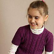 Работы для детей, ручной работы. Ярмарка Мастеров - ручная работа Детский пуловер Bloom. Handmade.
