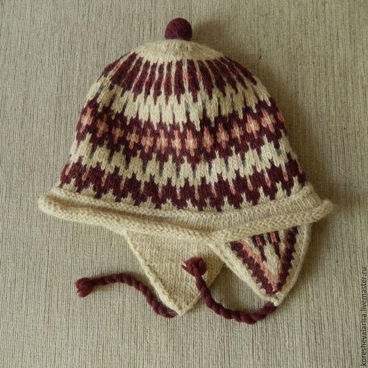 Шапки ручной работы. Ярмарка Мастеров - ручная работа. Купить Скандинавская шапочка. Handmade. Комбинированный, шерсть 100%