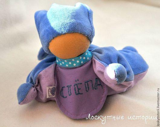 Вальдорфская игрушка ручной работы. Ярмарка Мастеров - ручная работа. Купить Вальдорфская кукла -бабочка. Handmade. Сиреневый, кукла-бабочка