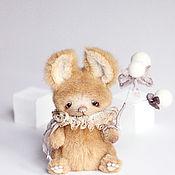 Куклы и игрушки ручной работы. Ярмарка Мастеров - ручная работа Джони зайка 14см. Handmade.