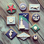 Подарки к праздникам ручной работы. Ярмарка Мастеров - ручная работа Океан. Handmade.
