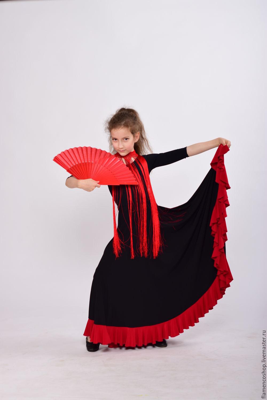 Юбка детская фламенко