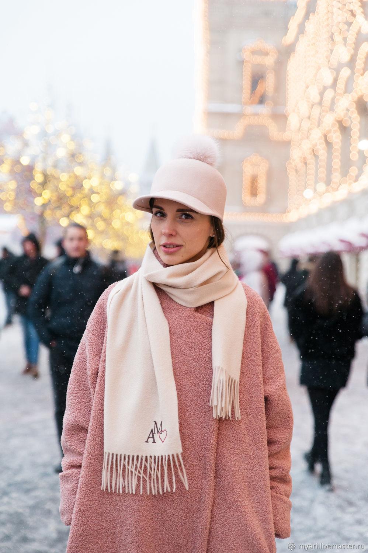Кепка из фетра с помпоном из песца, Шляпы, Москва, Фото №1