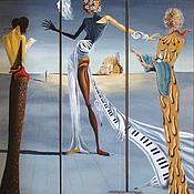 Картины и панно ручной работы. Ярмарка Мастеров - ручная работа Копии картин разных художников на заказ. Handmade.