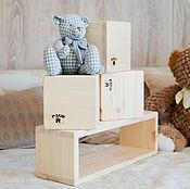 Куклы и игрушки ручной работы. Ярмарка Мастеров - ручная работа Большие деревянные кубики. Handmade.