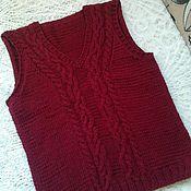 Vests handmade. Livemaster - original item Knitted vest