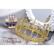 Работы для детей, handmade. Livemaster - original item The crown of the keys. Crown Polkan, the tale