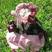 """Куклы и игрушки ручной работы. Ярмарка Мастеров - ручная работа """"Бабулька"""" в дом. Handmade."""