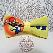 Аксессуары ручной работы. Ярмарка Мастеров - ручная работа Галстук бабочка Дятел Вуди/ Вуди Вудпекер/ мультяшки/ мультсериал. Handmade.