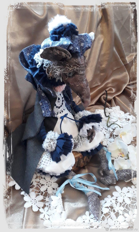 Гламурный крыс, Портретная кукла, Боковская,  Фото №1