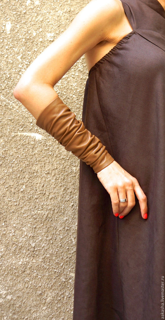 Кожаный браслет  ручной работы ! дизайнерские украшения