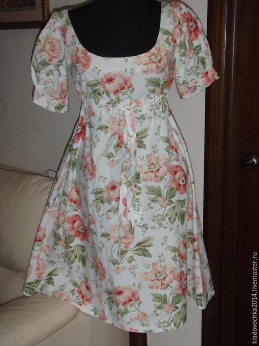 """Платья ручной работы. Ярмарка Мастеров - ручная работа. Купить Платье """"Очарование"""". Handmade. Белый, платье на каждый день"""