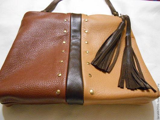 """Украшения для сумок ручной работы. Ярмарка Мастеров - ручная работа. Купить Украшение для сумки   """"Шоколадная кисть"""". Handmade. Коричневый"""