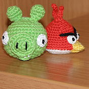 Куклы и игрушки ручной работы. Ярмарка Мастеров - ручная работа ANGRY BIRDS. Handmade.