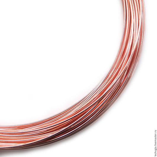 Для украшений ручной работы. Ярмарка Мастеров - ручная работа. Купить Проволока Bead Wire 20 Ga Copper (медная). Handmade.