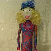 Куклы и игрушки ручной работы. Ярмарка Мастеров - ручная работа Кукла текстильная мадам Брошкина. Handmade.