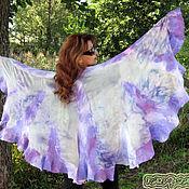 Одежда handmade. Livemaster - original item Large felted tippet shawl poncho